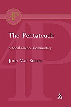 The Pentateuch : a social-science commentary