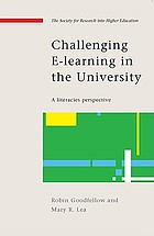 Challenging e-learning in the university : a literacies perspective