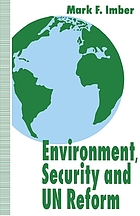 Environment, security, and UN reform