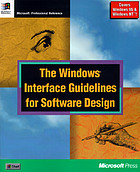 The Windows interface guidelines for software design.