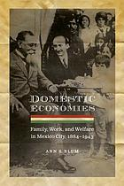 Domestic economies : family, work, and welfare in Mexico City, 1884-1943