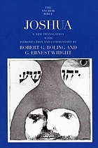 Joshua : a new translation with notes and commentary