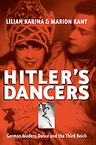 Hitler's dancers : German modern dance and the Third Reich