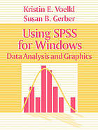 Using SPSS for Windows : data analysis and graphics