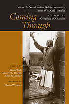 Coming through : voices of a South Carolina Gullah community from WPA oral histories