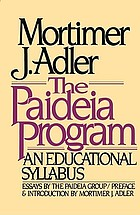 The Paideia program : an educational syllabus