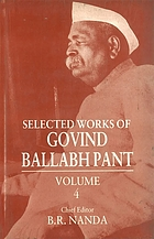 Selected works of Govind Ballabh Pant Vol. 4