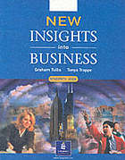 New insights into business. Students' book