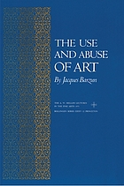 The use and abuse of art.