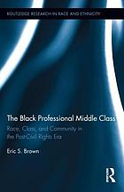 The Black professional middle class : race, class, and community in the post-civil rights era