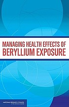Managing health effects of beryllium exposure : international workshop proceedings