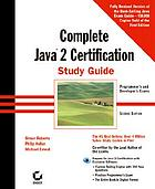 Complete Java 2 certification : [study guide]