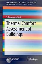 Thermal comfort assessment of buildings