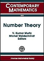 Number theory : Ramanujan Mathematical Society, January 3-6, 1996, Tiruchirapalli, India