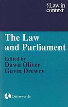 The Law and Parliament