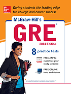 McGraw-Hill's GRE : Graduate Record Examination general test