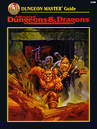 Dungeon master guide for the AD & D game