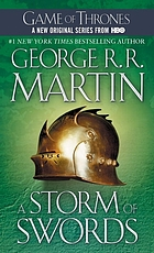 Game Of Thrones Book Three Of A Song Of Ice And Fire: A Storm Of Swords