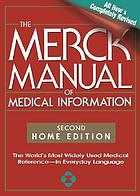 The Merck manual of medical information.