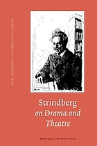 Strindberg on drama and theatre : a source book