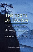 The Sacred books of China: The texts of Taoism.