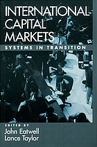 International capital markets : systems in transition