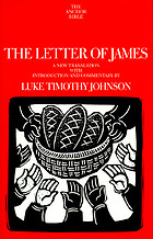The letter of James : a new translation with introduction and commentary