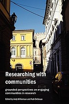 Researching with communities : grounded perspectives on engaging communities in research