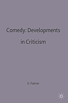 Comedy : developments in criticism : a casebook