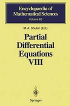 Partial differential equations. / VIII, Overdetermined systems. Dissipative singular Schrödinger operator. Index theory