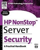 HP Nonstop server security : a practical handbook