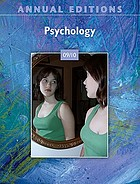 Annual editions : psychology 09/10