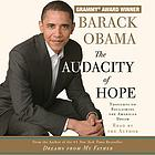 The audacity of hope : [thoughts on reclaiming the American dream]