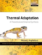 Thermal adaptation : a theoretical and empirical synthesis