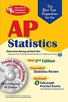 The best test preparation for the AP statistics exam : with REA's Testware on CD-ROM