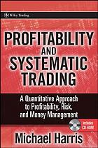 Profitability and systematic trading
