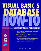 Visual Basic 5 database how-to : the definitive database problem-solver