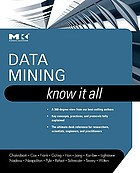 Data mining : know it all
