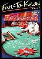 Baccarat made simple!.