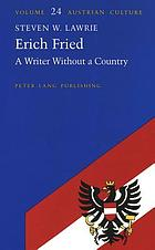 Erich Fried : a writer without a country