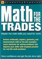 Math for the trades