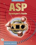 ASP developer's guide