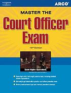 Master the court officer exam