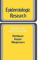 Epidemiologic research : principles and quantitative methods