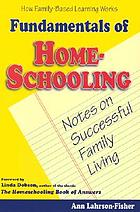 Fundamentals of home-schooling