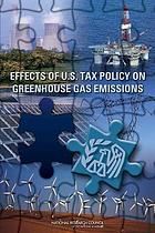 Effects of U.S. tax policy on greenhouse gas emissions