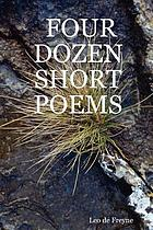 Four dozen short poems