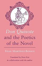 Don Quixote and the poetics of the novel