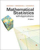 Mathematical statistics with applications