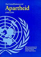 The United Nations and apartheid, 1948-1994